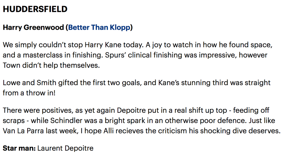 Spurs Verdict