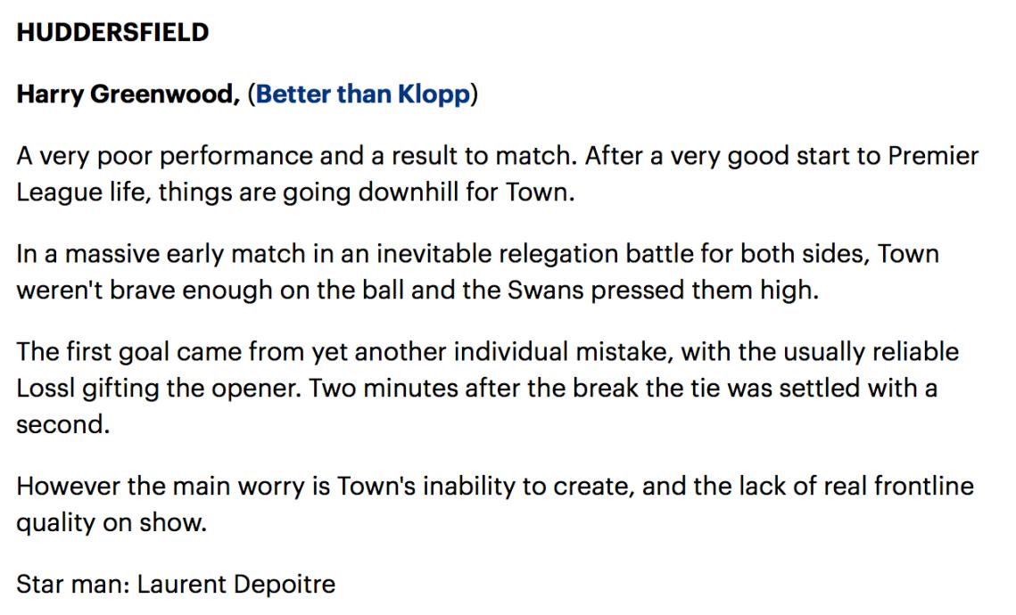 Swansea Verdict